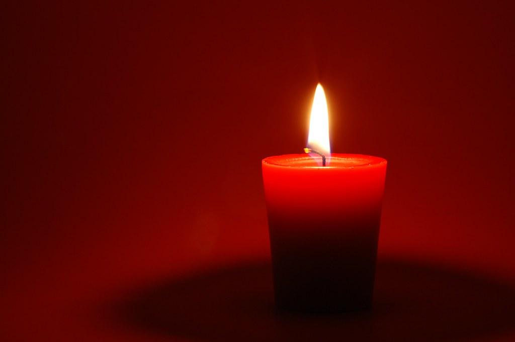 Red Candle Kent Landerholm Flickr