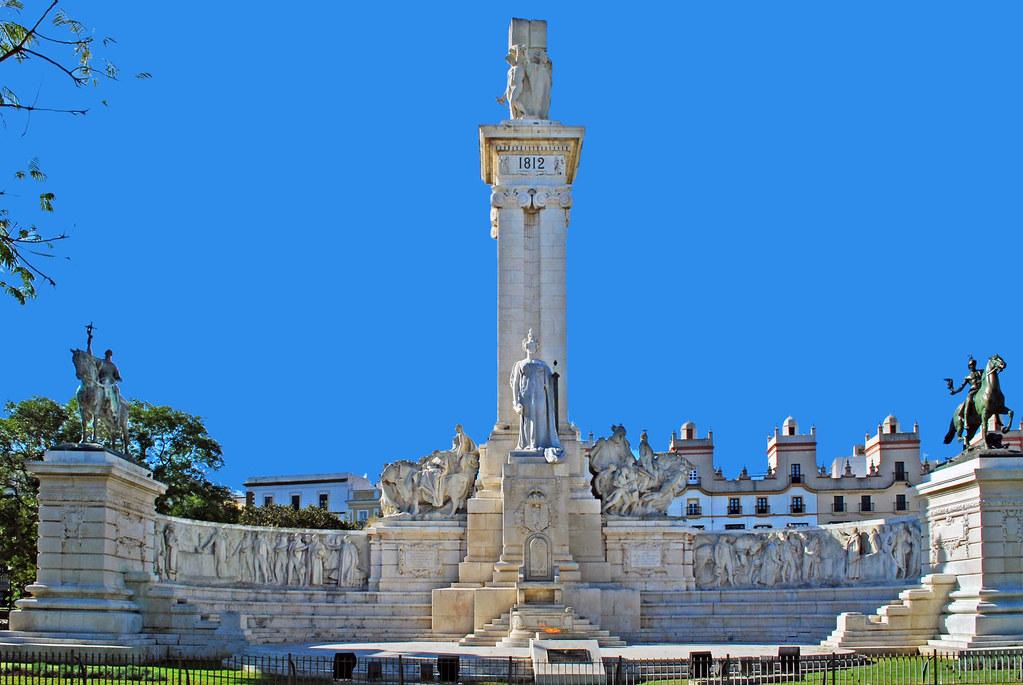 Monument To The Constitution Of 1812 Cadiz Spain Flickr
