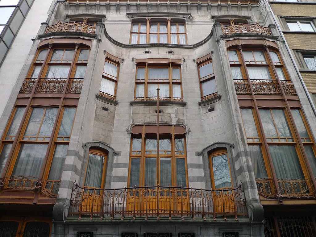 Brussels h tel solvay h tel solvay victor horta 1900 for Architecture maison de maitre