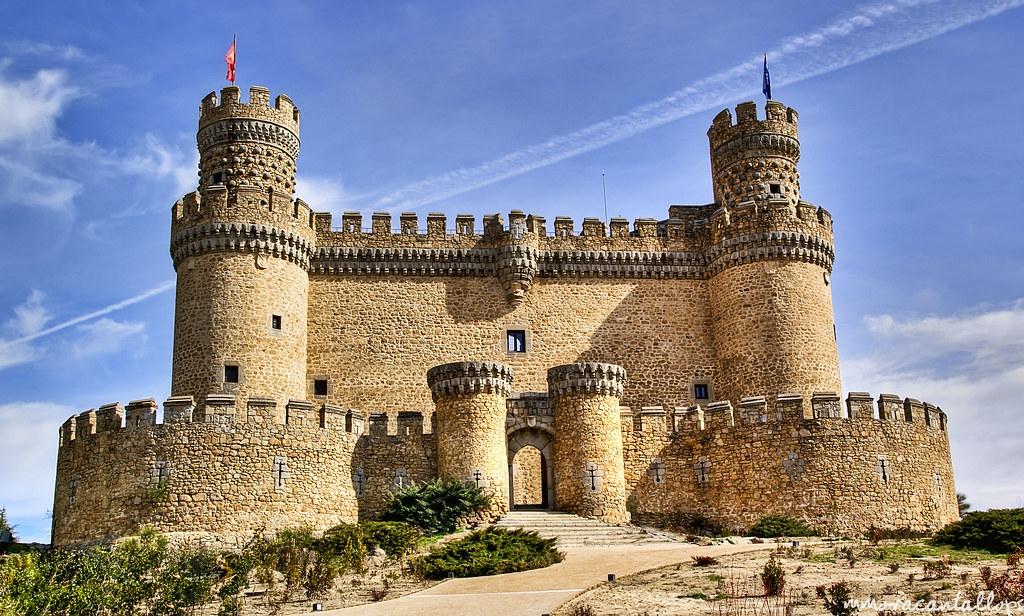 Castillo de los mendoza this castle is an important - Casa en manzanares el real ...
