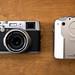 Finepix X100 and Finepix 6800Z