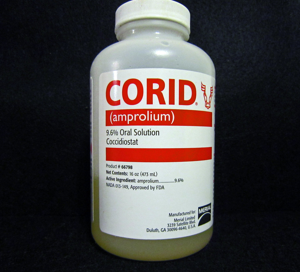eprinex withdrawal period for corid