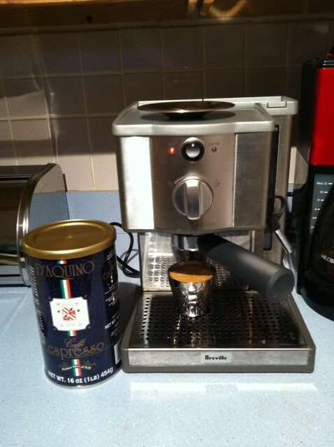 Breville Coffee Maker Uob : Breville espresso maker and D aquino coffee For the first ? Flickr