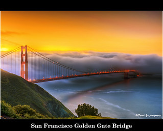 San Francisco Golden Gate Bridge | by davidyuweb