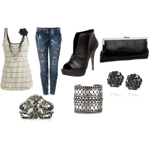 Teenage girl party outfit | Created on Polyvore - www.polyvou2026 | Flickr