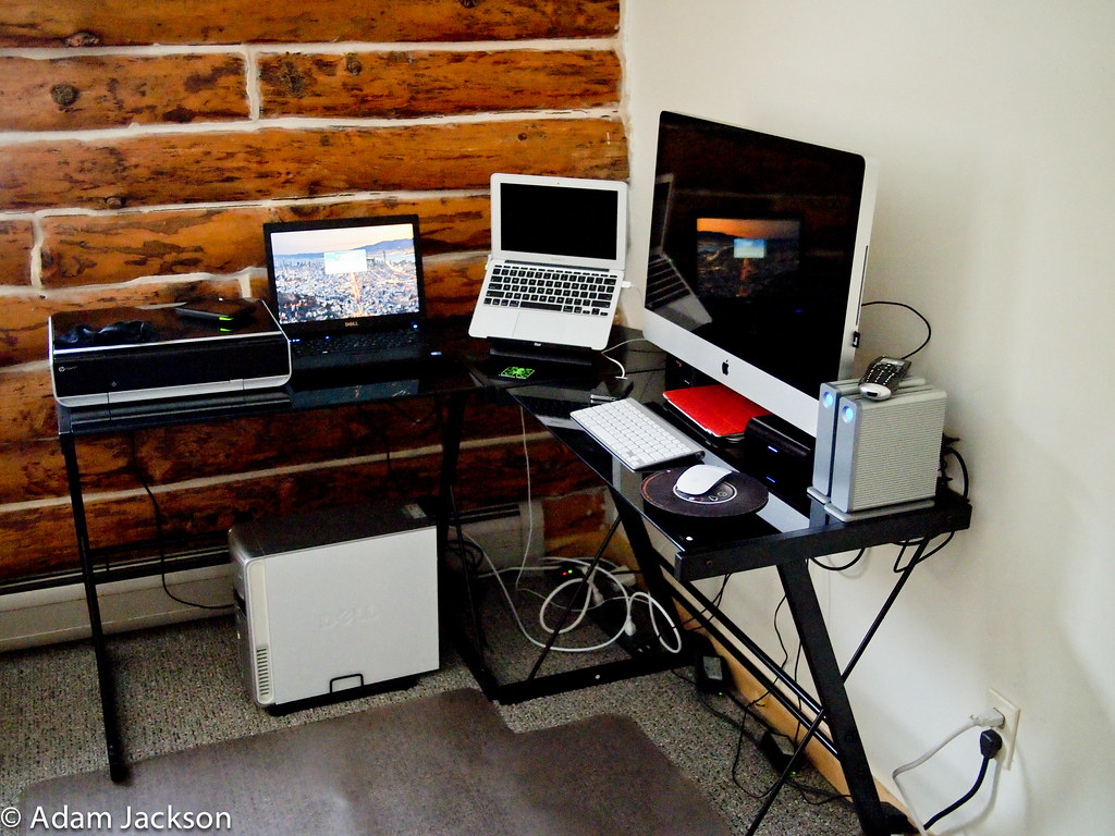 My home office setup just an updated home office setup for My home office setup