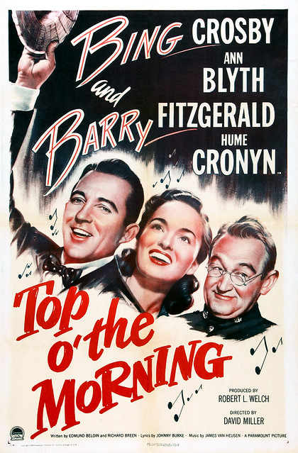 Bing Crosby, Ann Blyth and Barry Fitzgerald