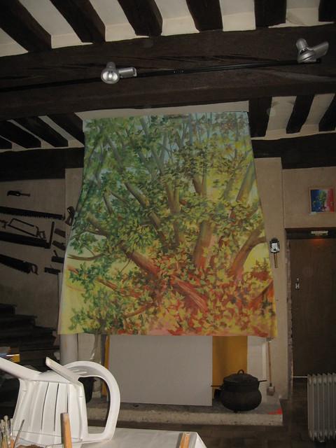 installation po le grains de bois flickr photo sharing. Black Bedroom Furniture Sets. Home Design Ideas