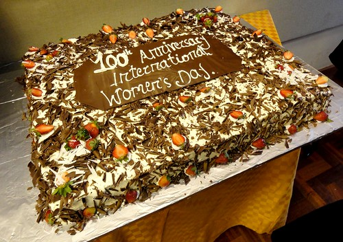 International Women's Day 2011 Cake | by International Livestock Research Institute
