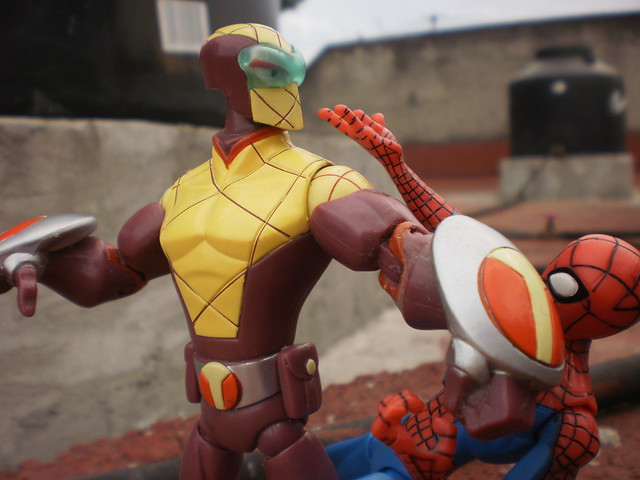 Spider-Man vs Shocker | Flickr - Photo Sharing!