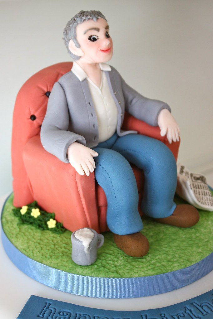 60th Birthday Cake Topper The Client Asked For Her Dad