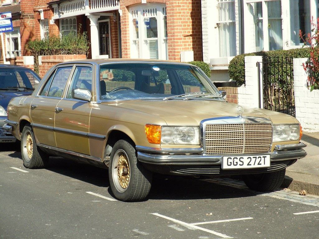 1979 mercedes benz 350se w116 saloon whilst most 70s for Mercedes benz 80s