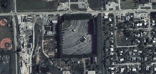 Coral Way Drive-In aerial photo 1969 | by ozoner68