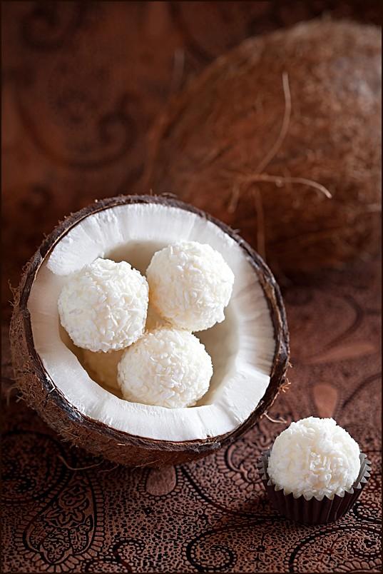 конфеты с кокосовой стружкой рецепт с фото