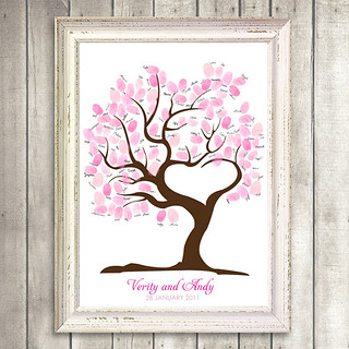 guest book tree of love | by idoityourself