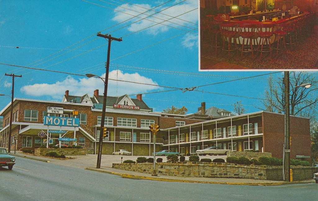 Mt Vernon Inn Uniontown Pennsylvania On U S 40 180
