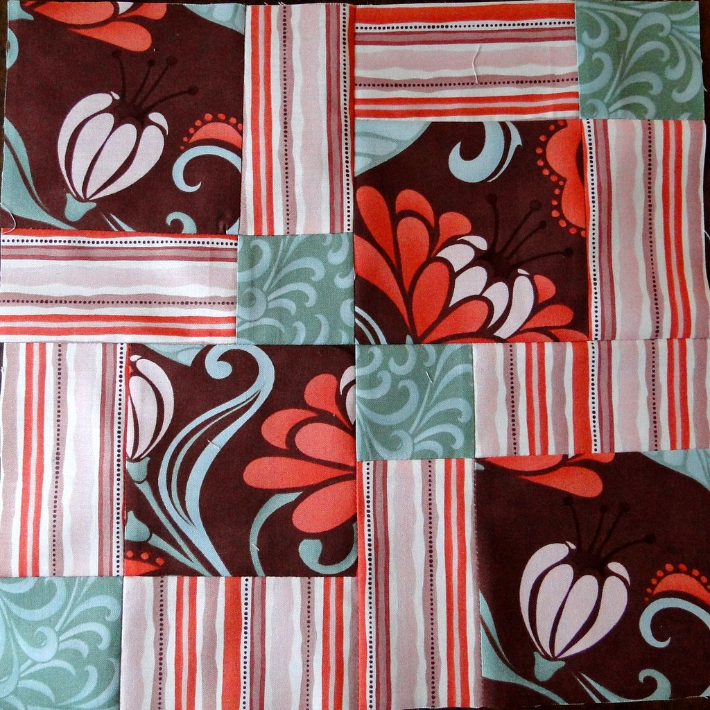 Layer Cake Quilt Along : Layer Cake Quilt Along Block 8 Carrie Flickr