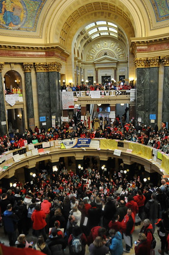 Wisconsin Budget Repair Bill Protest | by mrbula