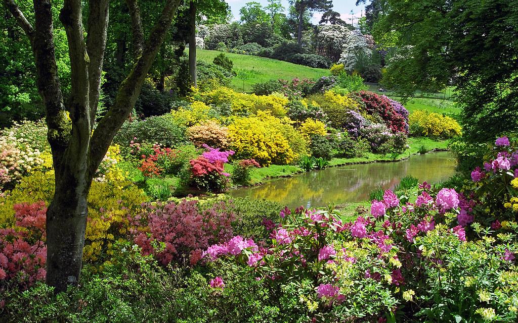 Leonardslee gardens west sussex uk kaleidoscopic color for Garden house design west sussex