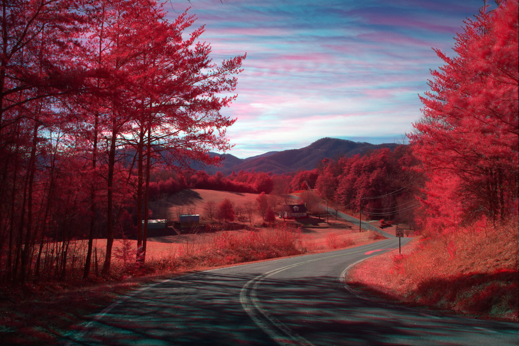 Silvers welch road view irg mcdowell county nc cross - Nature wallpaper aesthetic ...