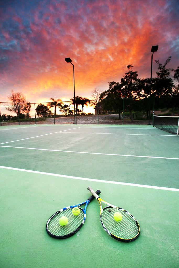 tennis  ironically  weekend