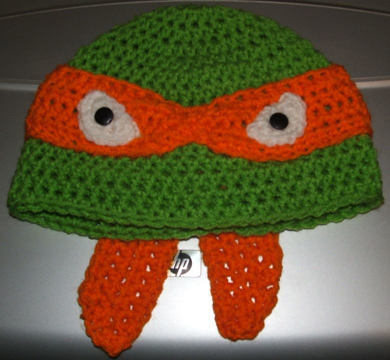 Michaelangelo Teenage Mutant Ninja Turtle Hat Available To Flickr