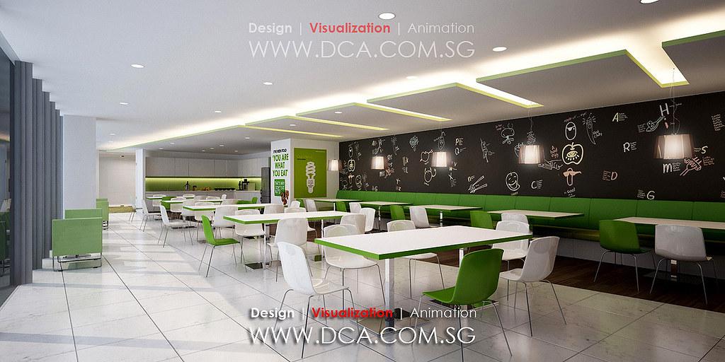 tata communication breakout area office 3d rendering flickr