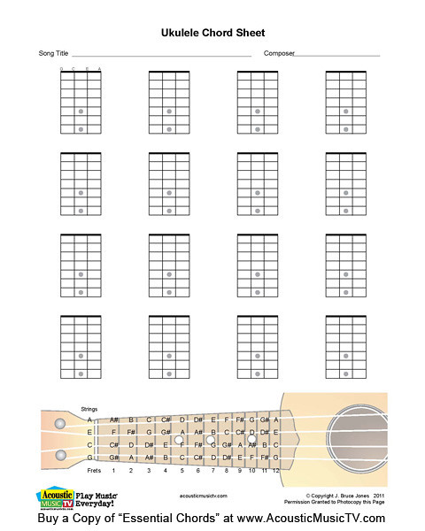 Ukulele u00bb Ukulele Chords Qing Fei De Yi - Music Sheets, Tablature, Chords and Lyrics