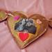 Paper Bag Heart Garland 67