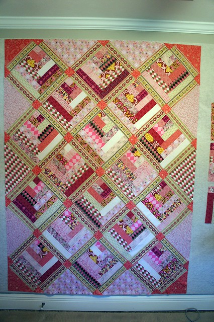 Design Wall Pink Quilt Flickr Photo Sharing
