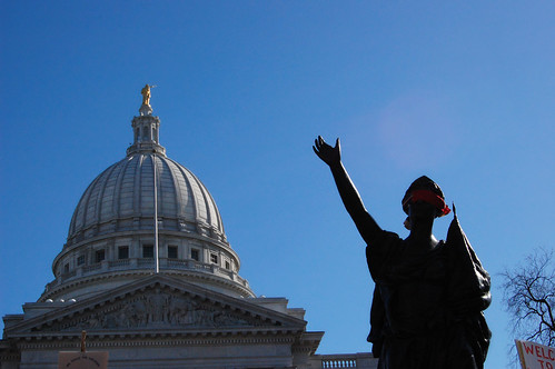 Wisconsin Pro-Workers Rally | by WxMom