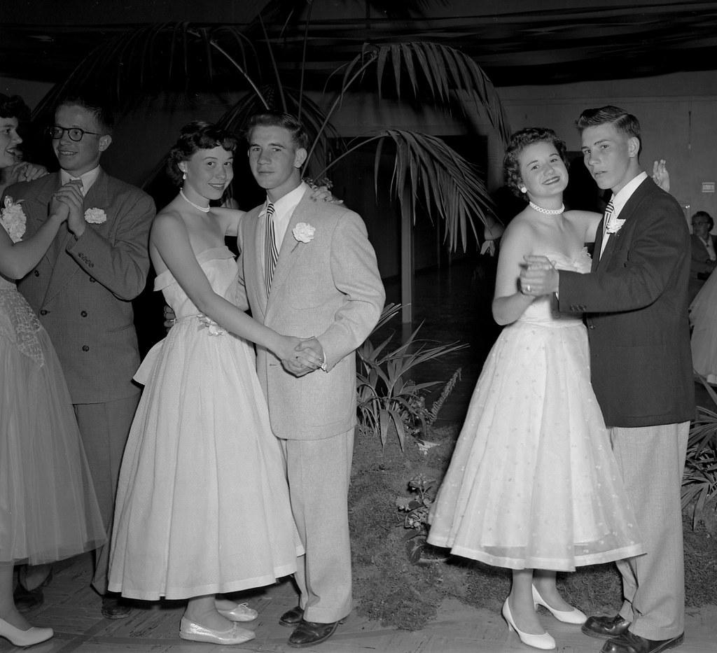 High School Prom 1955 Photo F R Schultz Almost Like A