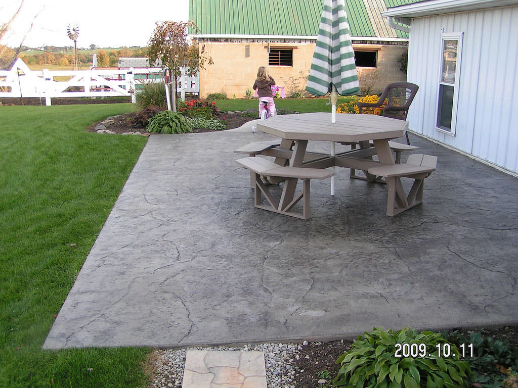 stamped concrete patio by swiss village concrete specifica u2026 flickr