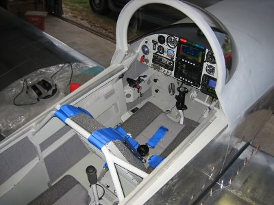 Van Aircraft Rv 8 Grey Interior 2 Aerotex Interiors Flickr