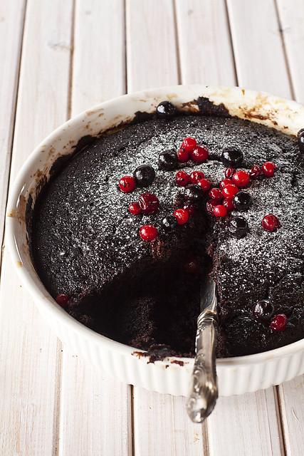 Deep dark chocolate pudding | Flickr - Photo Sharing!