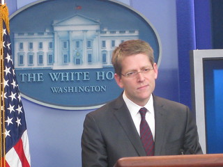 New White House Press Secretary Jay Carney's first briefing | by Talk Radio News Service