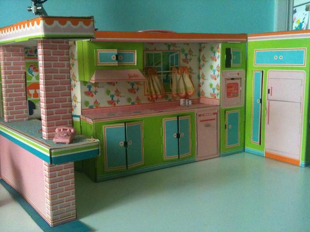 Vintage Barbie Kitchen Set