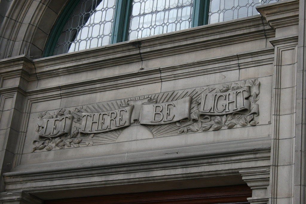 Carnegie Library Motto Carnegie Library Central