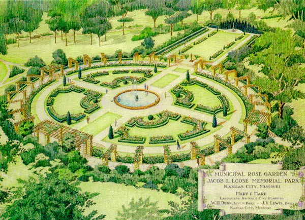 Loose Park Rose Garden Perhaps The City S Most Treasured
