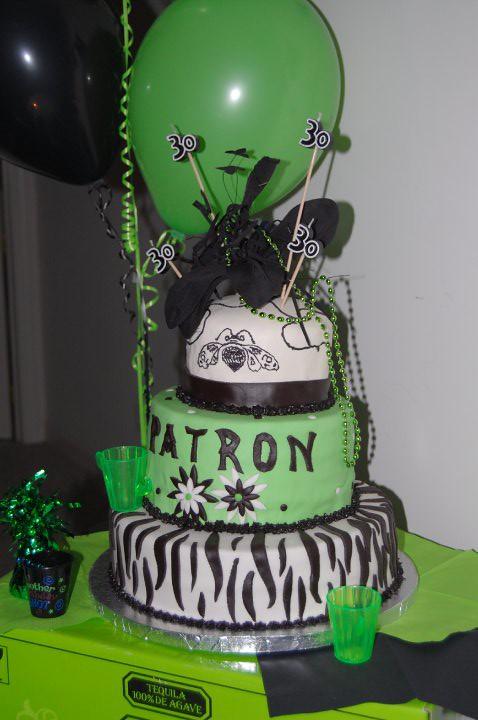 Patron Birthday Cake Sharon And July Flickr - Patron birthday cake