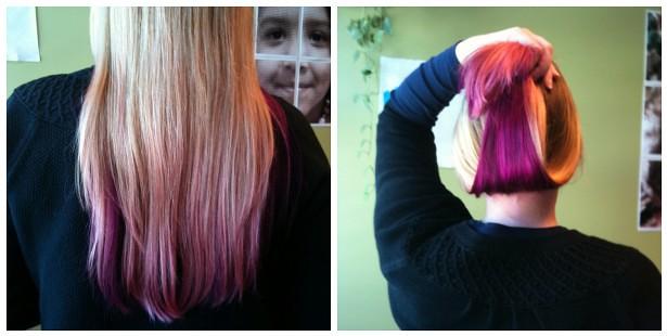 Hair Color Bled Into Bleach