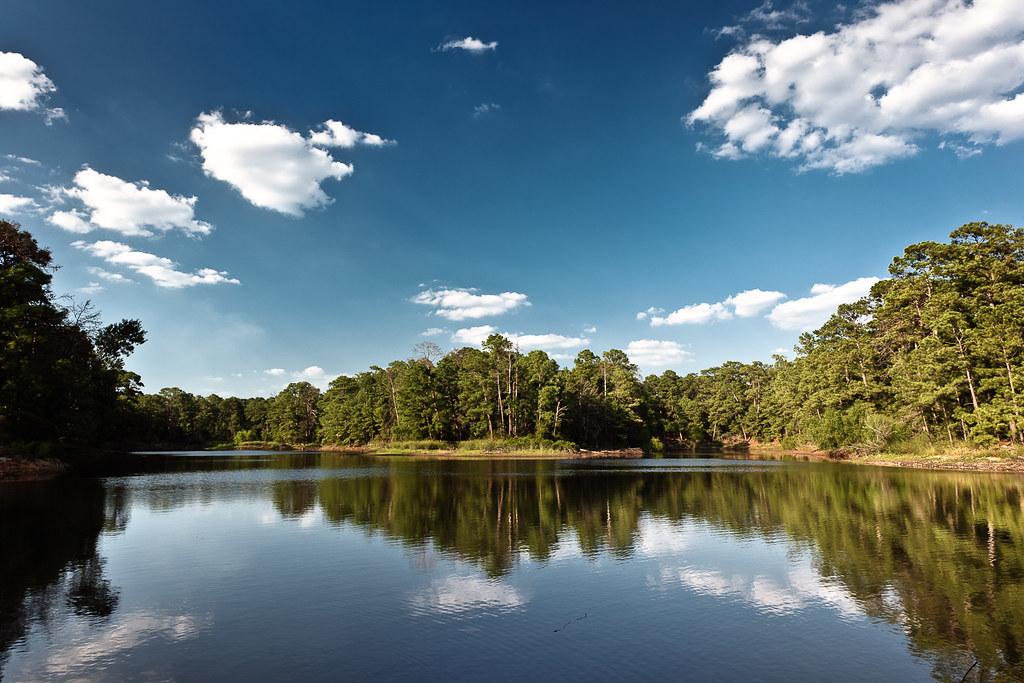 Bastrop Lake - Bastrop State Park, Texas   © 2010 Jeff ...