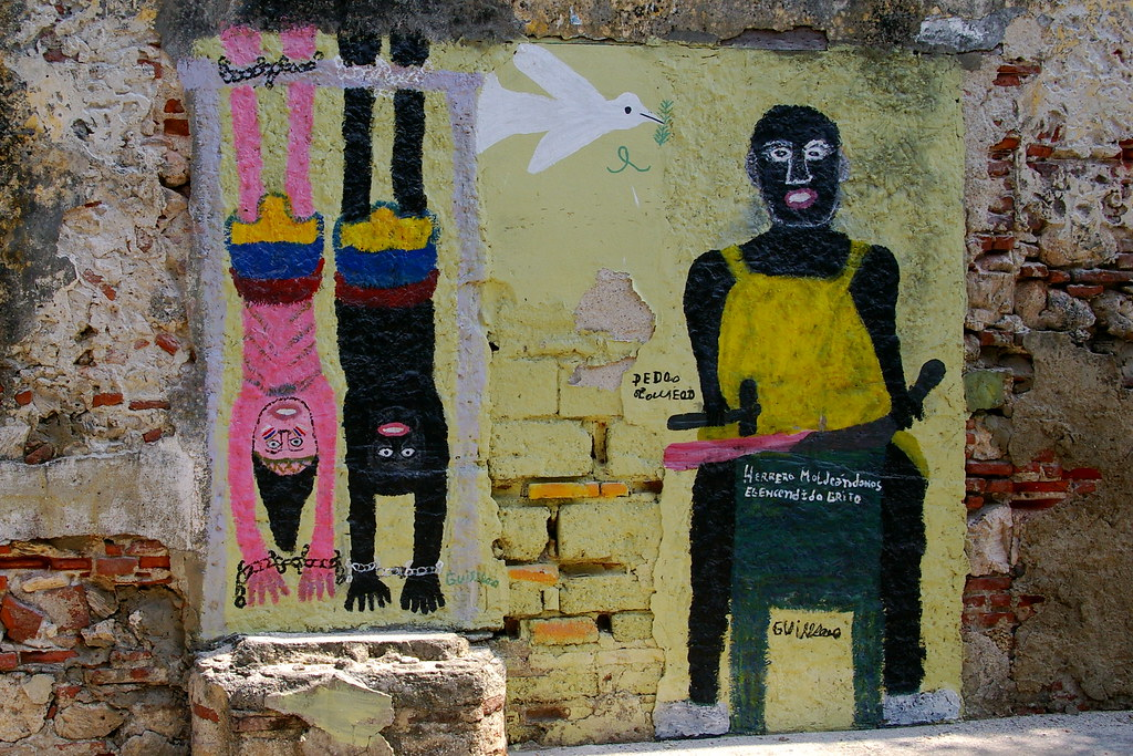 Cartagena graffiti | © Bryan Pocius / Flickr