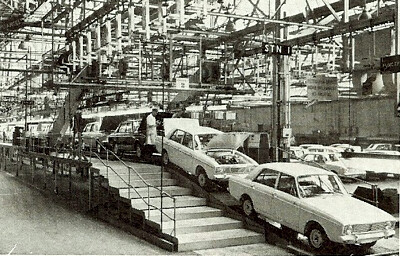 Hillman/Singer/Sunbeam   Line production at Rootes Group ...