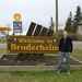 Bruderheim Sign