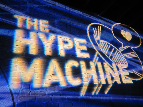 The Hype's Machine | by flaneurdeluxe