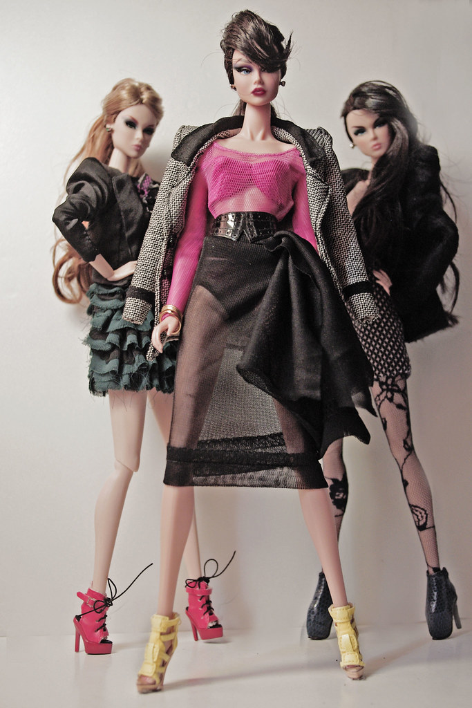 Bad girls in school these three girls are always a big for Haute couture meaning in english