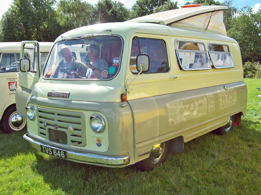 11 Austin 152 Omnivan Car Camper 1956 67 Austin