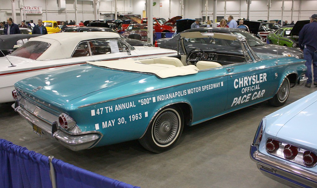 1963 Chrysler 300 J Indy Pace Car Convertible Richard