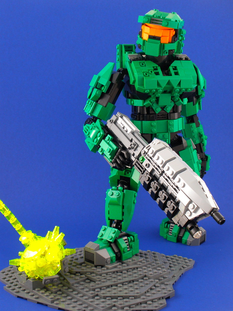 Master chief spartan 117 this has been my big project - Lego spartan halo ...